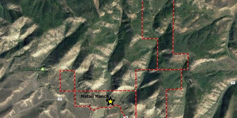 Aerial - Ranch Outlined