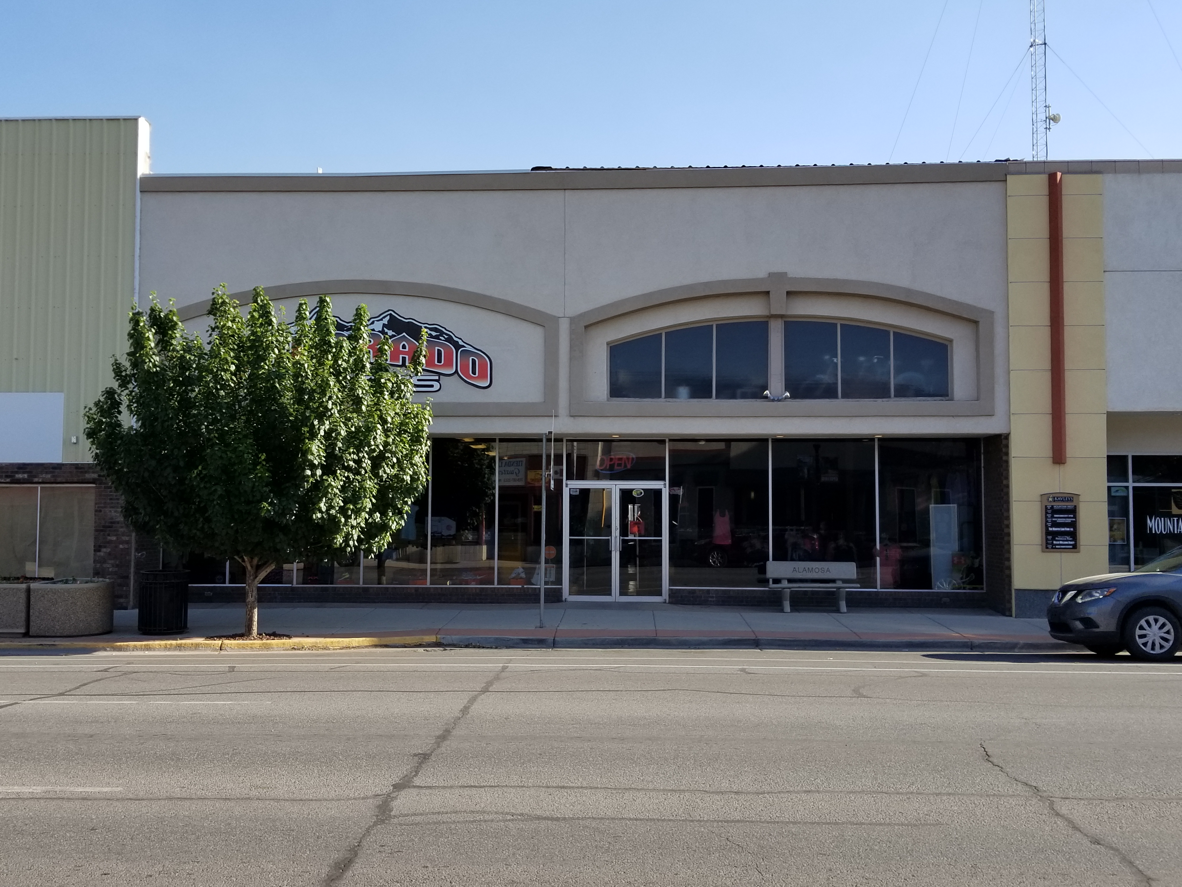 Commercial Building in Downtown Alamosa