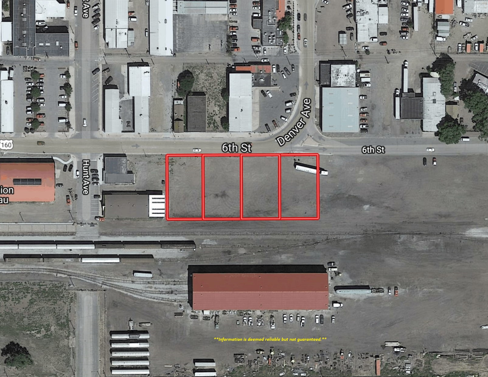 Four Commercial Lots